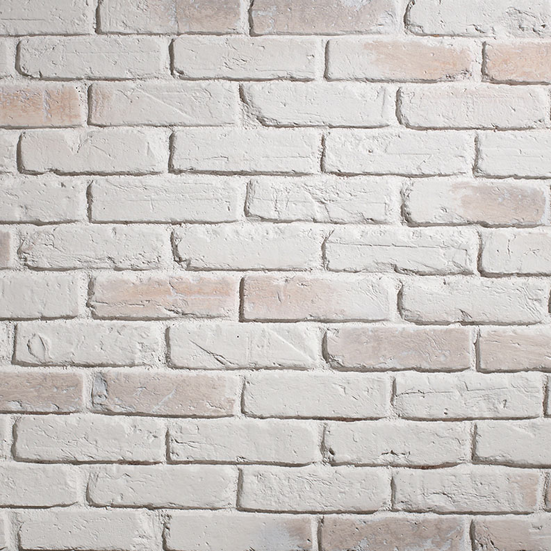 panelpiedra brick PR-542  ladrillo british old white