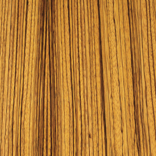 oberflex prestige natural zebrano straight-grain  bookmatched non-sequenced