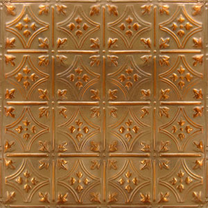 new york ceiling ART copper tuscan bronze
