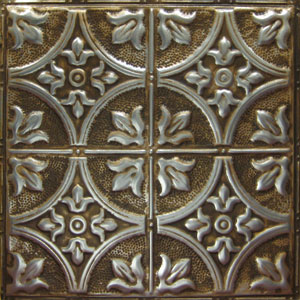 new york ceiling ART silver brushed bronze