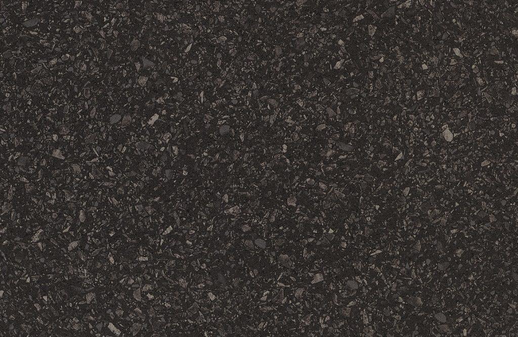 getalit MK171 hoogglans terrazzo zwart