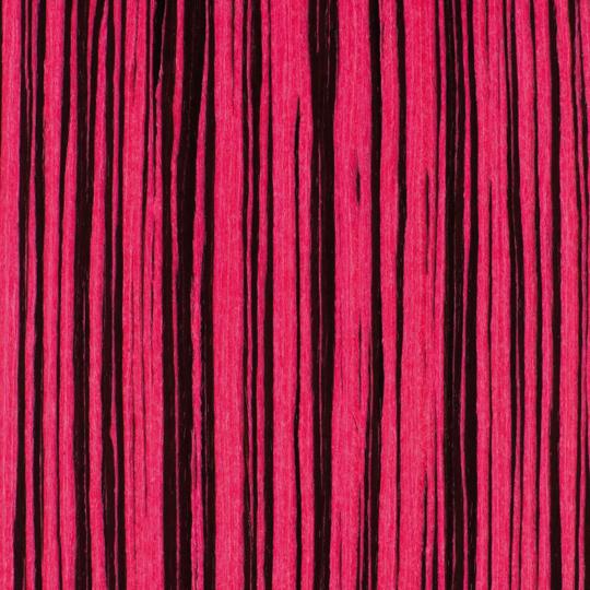 oberflex chic & pop pink pop zebrano satin
