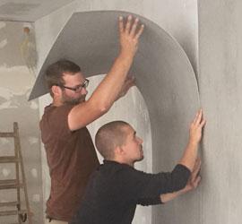 Imi-matte beton vintage standaard str glad
