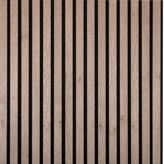 aangenaam akoestiek woodline rustiek eiken grijs ( ongelakt )
