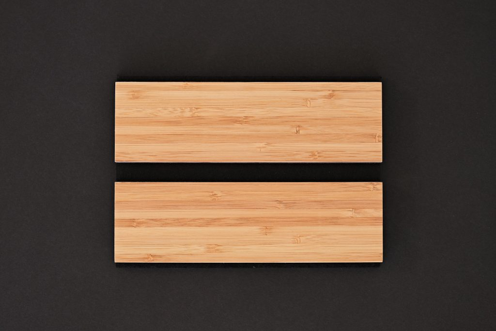 aangenaam akoestiek woodline Type 60 Bamboe ( blank mat gelakt )