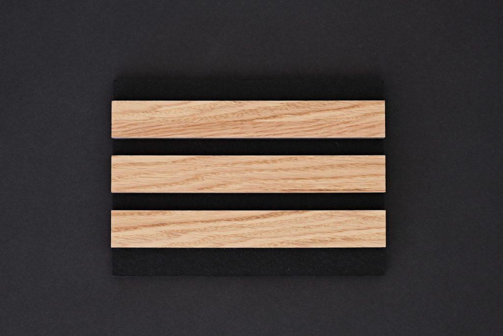 aangenaam akoestiek woodline Type 27 Eiken ( blank mat gelakt )